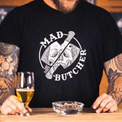 MadButcher Skull ´n Cleaver T-Shirt
